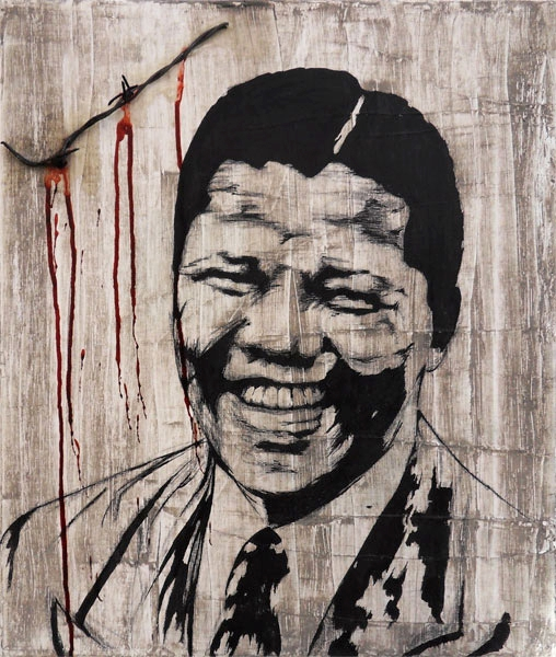 Nelson Mandela by Perfly